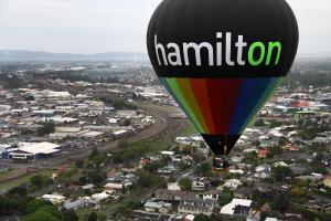 Hamilton mid flight